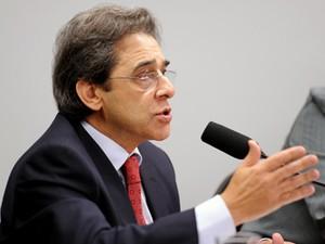 O presidente da ANDI Mauro Borges Lemos, em audiência na Câmara, em 2012 (Foto: Beto Oliveira/Câmara)