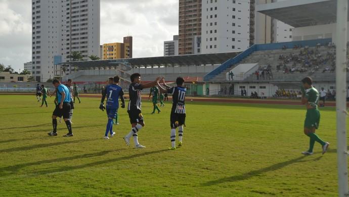 botafogo-pb, serrano, jogo-treino (Foto: Cisco Nobre / GloboEsporte.com/pb)
