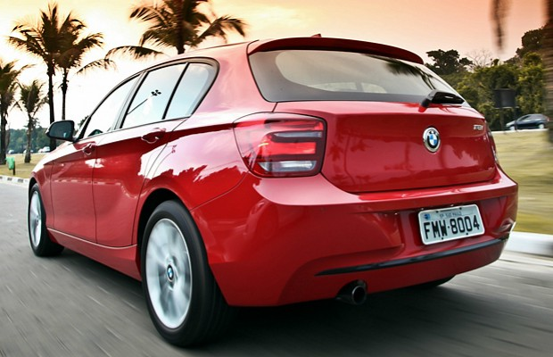 BMW Série 1 (Foto: Guilber Hidaka)