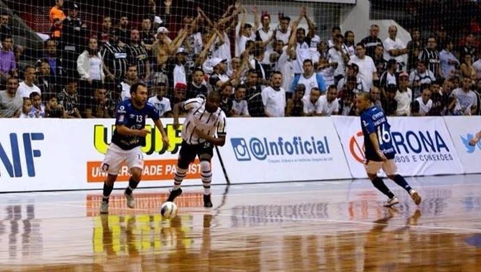 Corinthians Joinville quartas de final liga nacional de futsal (Foto: Divulgação/Agência Corinthians)
