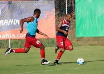 Willians Santana em treino do Bahia (Foto: Divulgação / EC Bahia)