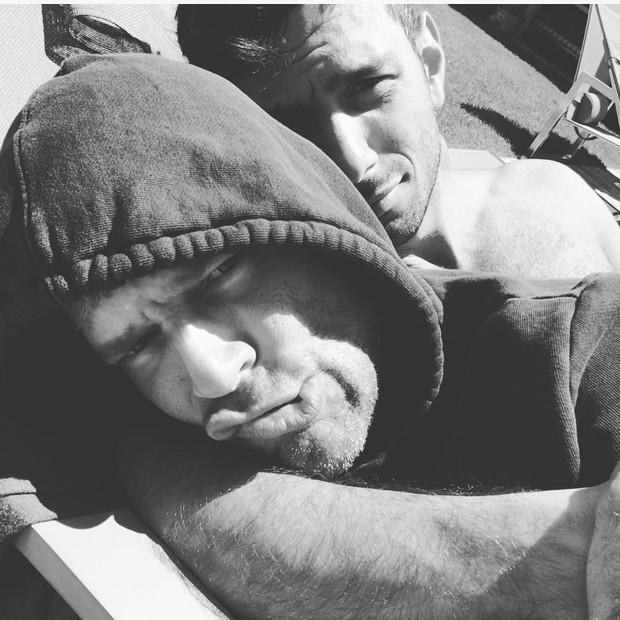 Ricky Martin e Jwan Yosef  (Foto: Reprodução / Instagram)