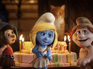 Cena de 'Os Smurfs 2' (Foto: Divulgação)