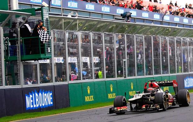 Kimi Raikkonen lotus GP da Austrália (Foto: Agência Reuters)