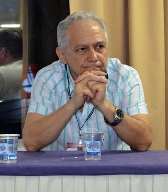 Nelson Guanaes presidente São José dos Campos FC (Foto: Danilo Sardinha/GloboEsporte.com)