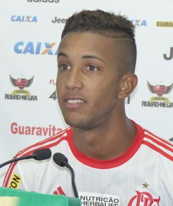 Jorge, Flamengo (Foto: Fred Gomes)