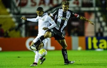 Belletti aponta pênalti não marcado para o Figueirense diante do Santos