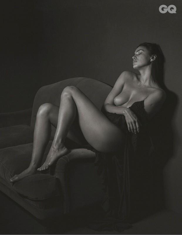 Irina Shayk (Foto: Reprodução/GQ Itália)