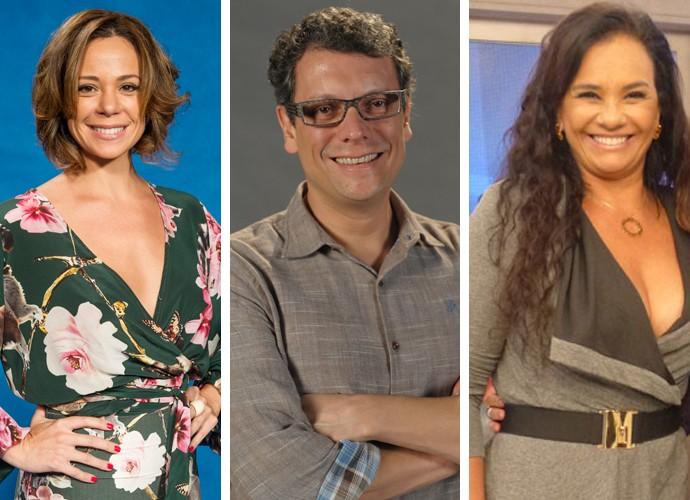 Vanessa Gerbelli, Marcelo Airoldi e Solange Couto também estão no elenco (Foto: João Cotta/Viviane Figueiredo Neto/TV Globo)