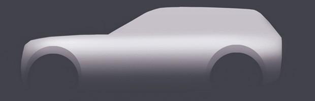Desenho explica a carroceria de um SUV (Foto: Fernando Morita/Autoesporte)
