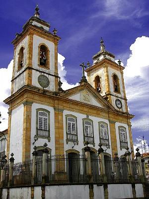 Catedral Basílica NS do Pilar São João del Rei (Foto: Dedicom São João del Rei/ Arquivo)