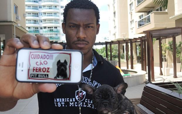 Amaral Flamengo Pit Bull (Foto: Cahê Mota)