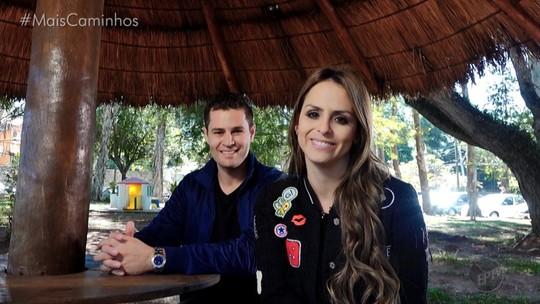 Pedro Leonardo e Aline Lima conhecem mais sobre o trabalho voluntário