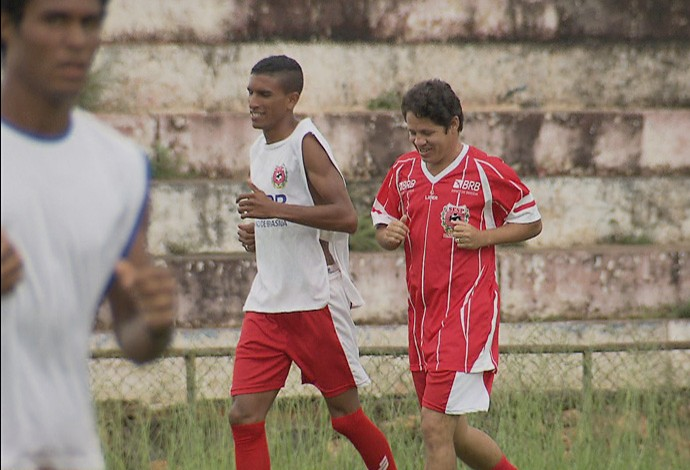 Iranildo, Candangão 2016, Planaltina-GO (Foto: Reprodução/TV Globo)