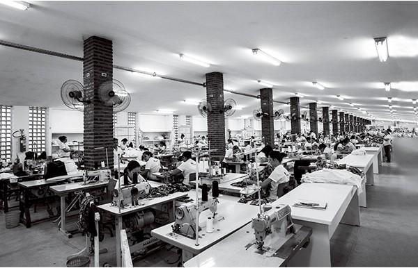 A fábrica montada no engenho (Foto: .)