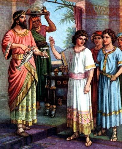O Livro de Daniel , da Bíblia, descreve um experimento controlado sobre dietas (Foto: reprodução)
