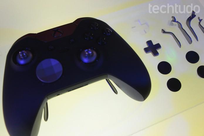 Novo controle da Microsoft tem como ponto negativo o preço: R$ 150 (Foto: Tais Carvalho/TechTudo)