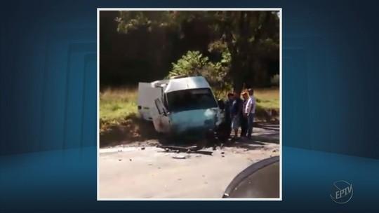 Três pessoas morrem em acidente entre carro e van na MG-179 em Silvianópolis, MG