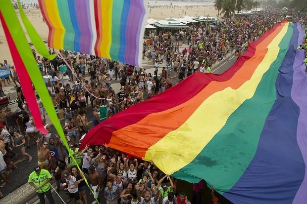 Parada Gay em Copacabana