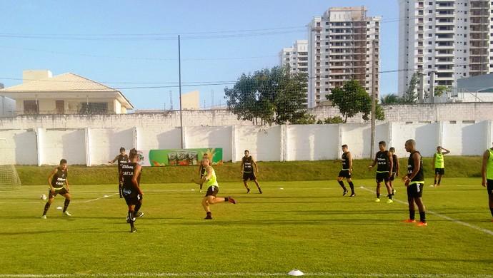 ABC - jogadores fazem apenas um treino para encarar o Potiguar de Mossoró (Foto: Divulgação/ABC)