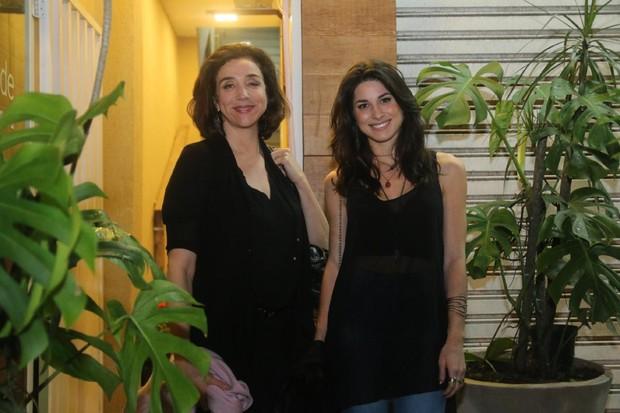 Marisa Orth e Chandelly Braz (Foto: Daniel Pinheiro/AgNews)