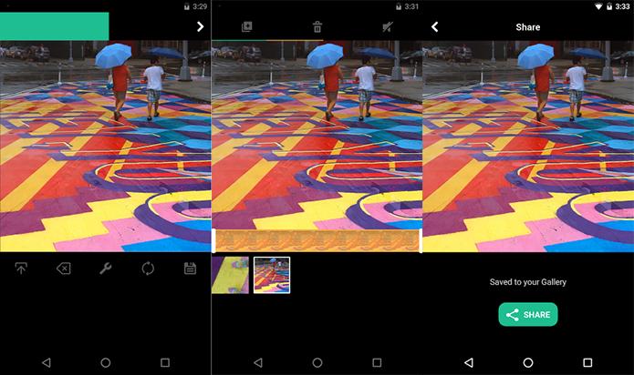 Vine Camera grava vídeos em loop, mas só para o Twitter Vine dá lugar oficialmente ao app Vine Camera (Foto: Reprodução/Google Play)