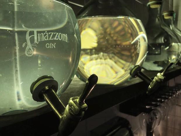 O Amázzoni Gin em seu habitat natural, o Sul Fluminense (Foto: Reprodução/Instagram)