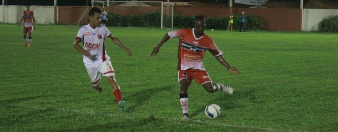 4 de Julho x River-PI pela terceira rodada do returno do Campeonato Piauiense (Foto: Marco Freitas)