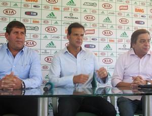 Tirone comparece à apresentação do Basquete do Palmeiras (Foto: Daniel Romeu/Globoesporte.com)