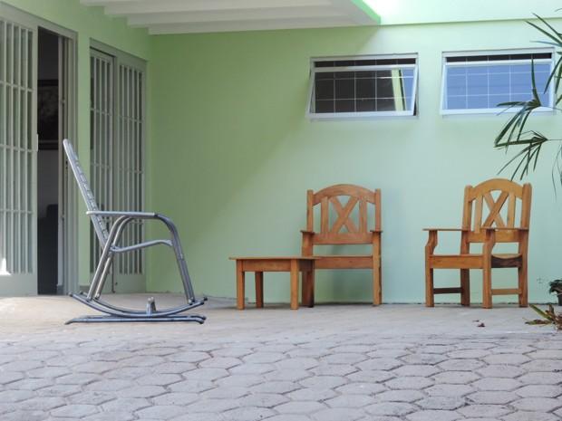 Casa de repouso fica no Jardim Aviação, em Presidente Prudente (Foto: Mariane Peres/G1)