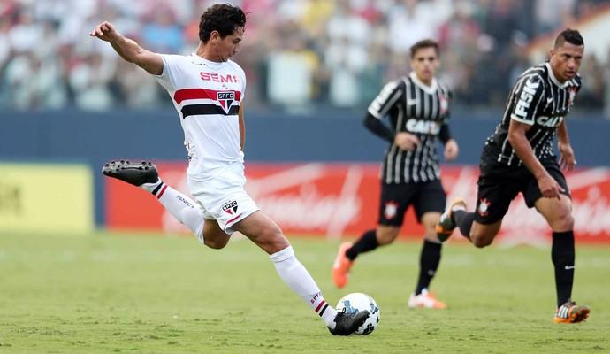 Ganso São Paulo x Corinthians (Foto: Marcos Ribolli/GloboEsporte.com)