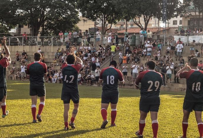 Uberlândia Rugby (Foto: Thiago Crepaldi/Arquivo Pessoal)