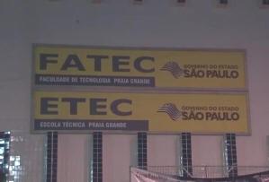 Inscrições para Etec de Praia Grande, SP, terminam nesta sexta-feira (Foto: Reprodução/TV Tribuna)