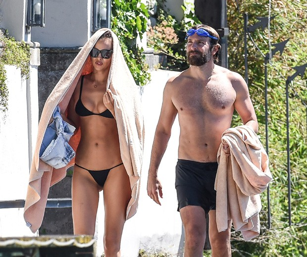 Bradley Cooper e Irina Shayk (Foto: The Grosby Group)