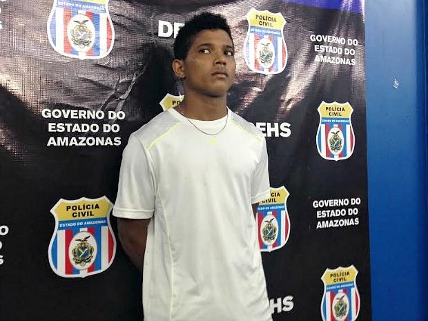 Michel Bruno foi preso nesta terça-feira (8) no município de Presidente Figueiredo (Foto: Indiara Bessa/G1 AM)