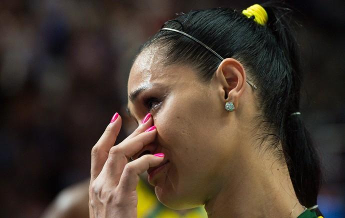 Jaqueline comemoração vôlei feminino Brasil (Foto: FIVB)