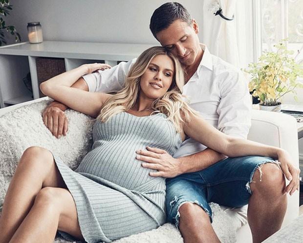 Kayla deu à luz primeiro filho de Ryan Lochte (Foto: Reprodução)