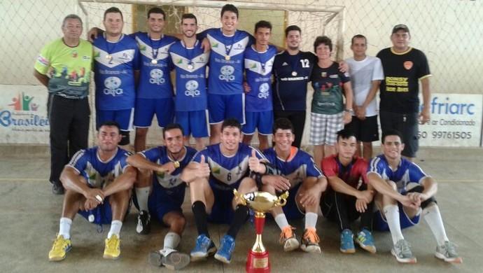 Atlético Acreano/Uninorte conquista Aberto de Handebol masculino (Foto: Divulgação/Fach)
