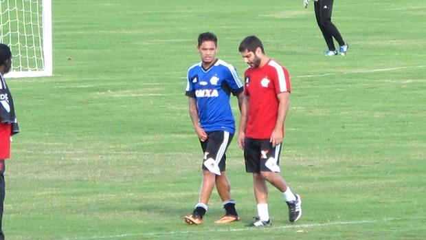 Carlos Eduardo Treino Flamengo Brasilia (Foto: Richard Souza)