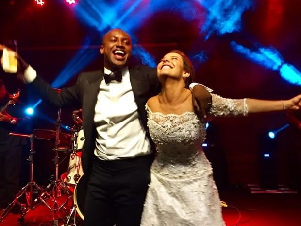 Festa de casamento de Fernanda Souza e Thiaguinho em São Paulo (Foto: Instagram/ Reprodução)