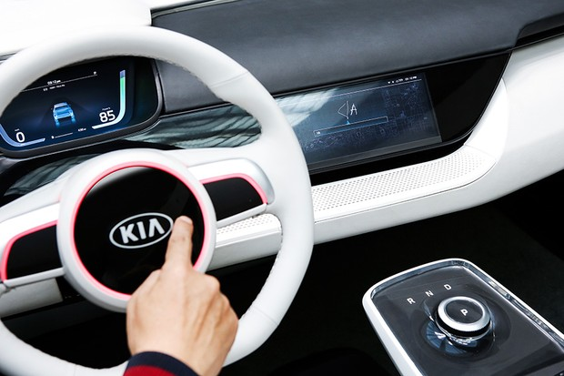 Kia Niro conceito na CES 2018 (Foto: Kia Motors)