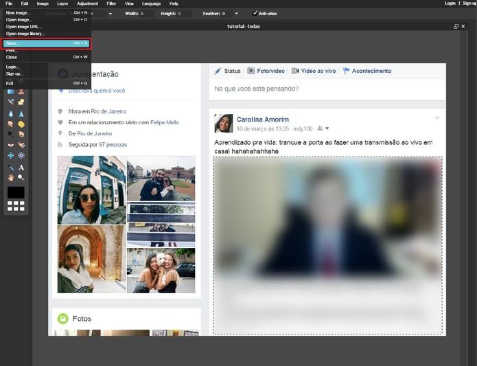 Pixlr tutorial -3 (Foto: Reprodução/Carolina Ochsendorf)