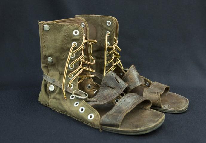 Com calçados velhos você pode fazer uma nova peça! (Foto: Felipe Monteiro/ Gshow)