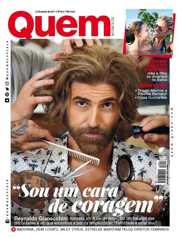 Reynaldo Gianecchini é capa da QUEM (Foto: Marcos Rosa/Ed. Globo)