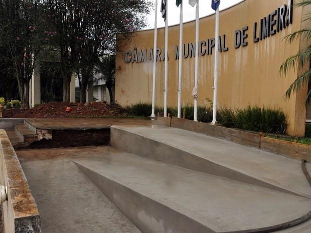 Câmara Municipal de Limeira  (Foto: Matheus Fonseca/Câmara de Limeira)