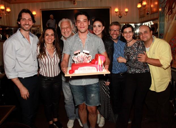 Equipe do espetáculo 'Baixa Terapia' (Foto: Marcos Ribas/BrazilNews)