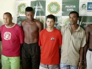 Operação contra o tráfico de drogras prende oito em Volta Redonda, RJ (Foto: Reprodução/TV Rio Sul)