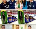 """Atletas e técnicos do Brasil """"viram"""" bonecas russas em Chelyabinsk"""