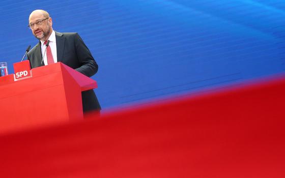 O social democrata alemão Martin Schulz (Foto:  Michael Dalder/REUTERS)