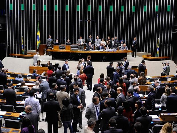 plenário da Câmara (Foto: Alex Ferreira/Câmara dos Deputados)